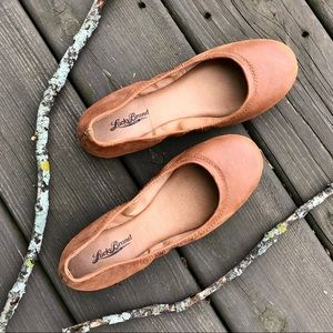 Lucky Brand Emmie Leather Ballet Slipper Flats